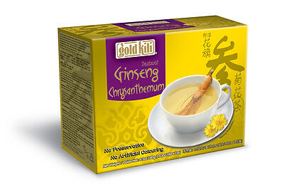 Gold Kili Goldkili Instant American Ginseng extract Green Tea 10 Sachets