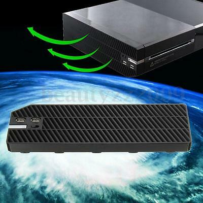 Cooling Cooler Fan Exhauster Intercooler Console for Microsoft Xbox One+Dual USB