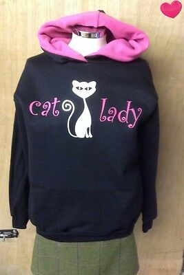 hoodies, sweatshirt    navy/cerise   CAT LADY  A Little bit of bling