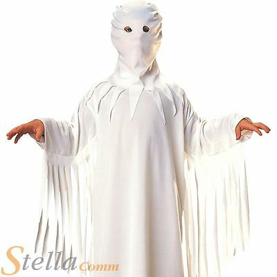 Boys Ghost Fancy Dress Costume Scary Haunted House Child Halloween Kids Outfit