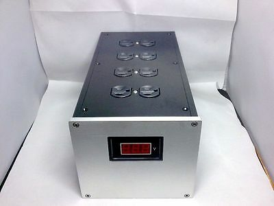 Full aluminum chassis for Upscale outlet power filter transformer case