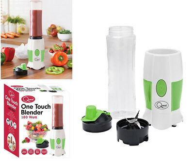 One Touch Fruit Smoothie Juice Blender & Shake Maker Machine Protein Drinks Gym