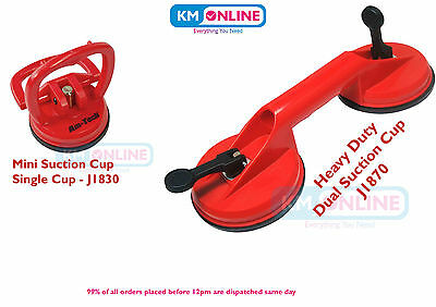 Suction Cup Single/Double Suction Lifter Heavy Duty Lift Dent/Material Amtech