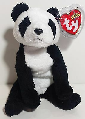 """TY Beanie Babies """"CHINA"""" the PANDA Bear - MWMTs! CHECK OUT MY BEANIES & SAVE $$$"""