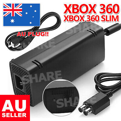 135W AC Charger Power Supply Cord Cable For Xbox 360 Adapter Slim Brick