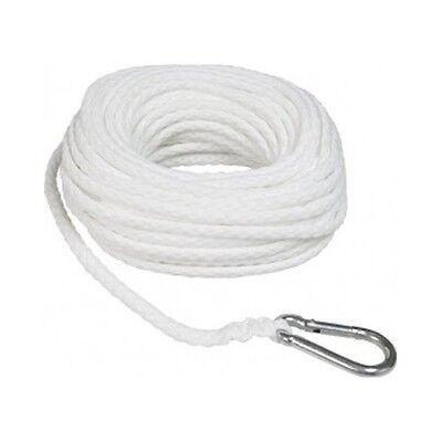 "Boat Rope Towing Line 3/8"" x 100' Braided Buoy Dock Anchor Watersport Marine"