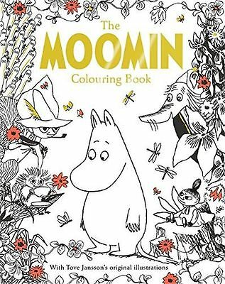 **NEW** - The Moomin Colouring Book (Paperback) - ISBN1509810021