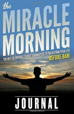 **NEW** - The Miracle Morning Journal (Paperback) - ISBN0979019788