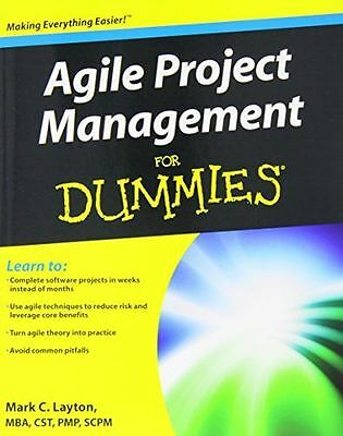 **NEW** - Agile Project Management For Dummies (Paperback) - ISBN1118026241