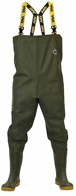 Vass 700E Nova PVC Heavy Duty Chest Waders  *Sizes 6-13* Sea,Carp, FREE P&P