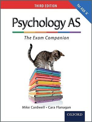The Complete Companions: AS Exam Companion for AQA A Psychology (Third Edition,