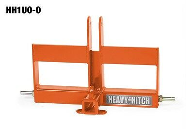 Cat. 1 Kubota Suitcase Weight & 2 Inch Receiver Hitch for 3 Point Hitch HH1UO-O