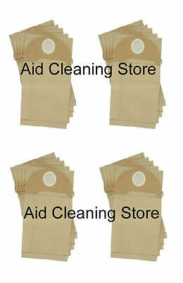 20 X Vacuum Cleaner Hoover Bags For Karcher Wd2.200 Wd3.500 4Xb304
