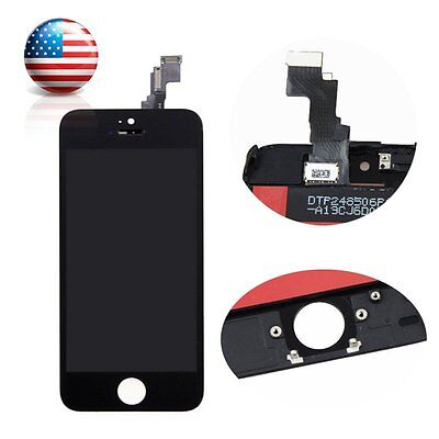 Replacement For iPhone 5C Black LCD Lens Touch Screen Display Digitizer Assembly