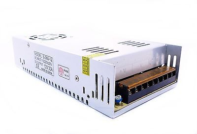 LED Industrienetzteil 12V 30A 360W 3D Drucker power supply RepRap + CAD file