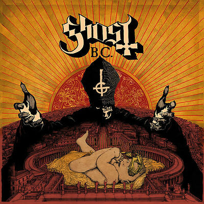 Ghost INFESTISSUMAM +MP3s LIMITED Gatefold NEW SEALED Red Colored Vinyl LP