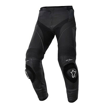 Alpinestars Missile Leather Sports Race Motorcycle Motorbike Trousers Pants