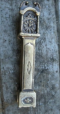 TH-008 - Grandfather Clock Brass Door Knocker, Vintage Made in England