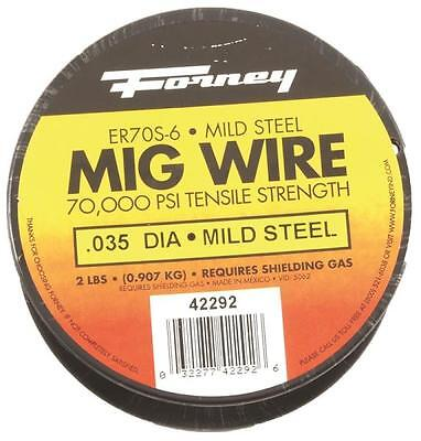 New Forney 42292 Welding Wire 2 Lb Spool .035 Mig High Strength Welder 8909855