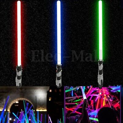 For Star Wars Light Up Laser Lightsaber Lightsaber PVC Adjustable Sword Kids Toy