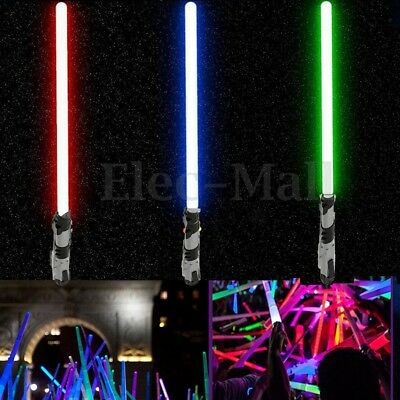Lightsaber For Star Wars Light Up Laser PVC Telescopic Sword Kids Toy Cosplay