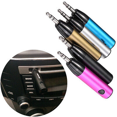 Handsfree Wireless Bluetooth AUX Audio Stereo Music Home Car Receiver Adapter