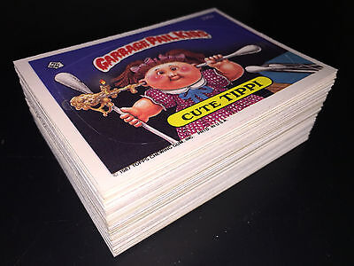 GARBAGE PAIL KIDS EXCELLENT 9th SERIES 9 COMPLETE 88-CARD SET 1987 +FREE WRAPPER
