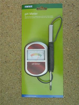 Tenax pH Meter. pH level for over 400 plants