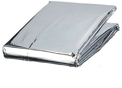 Emergency Blanket Silver Foil Blanket Survival Accident Snow Breakdown Aid S4680