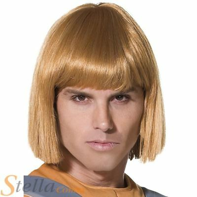 Adult He-Man Wig Mens 1980s Masters Of The Universe Fancy Dress Accessory