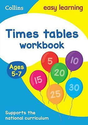 Times Tables Workbook Ages 5-7: New Edition by Collins Easy Learning (English) P