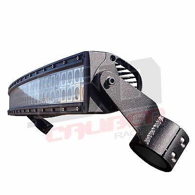 """Clamp-on Roll Cage LED 40"""" Light Bar and Rack Mount Polaris RZR S 900 2015 2016"""