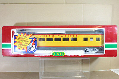 LGB 31590 UNION PACIFIC UP OBSERVATION PASSENGER COACH MINT BOXED nf
