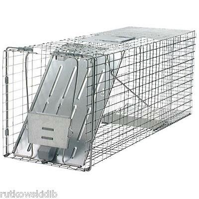 Havahart 32-Inch Live Animal Cage Trap for Raccoons Groundhogs Cats Opossums