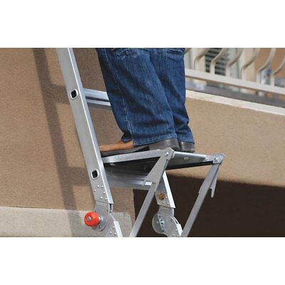 Little Giant 300-LB Capacity T1A Aluminum Work Platform for a Ladder