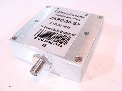 Mini-Circuits ZAPD-30-S+ (20-3000MHz) Power Splitter / Divider Tested Guaranteed