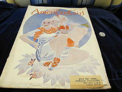 Vintage Girl Scout Magazine  Great Old Ads Articles The American Girl June 1937