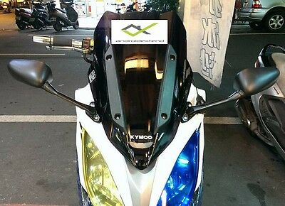 KYMCO XCT-400 / XCITING 250/500 (YZF-R15 style) FRONT MOUNTED SQUARE MIRRORS
