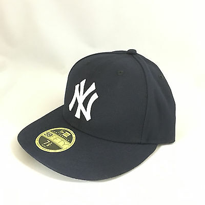 New York NY Yankees Hat New Era LOW PROFILE 59FIFTY Fitted Cap MLB Baseball New