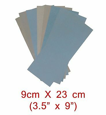 "10PC 3 1/2"" x 9"" WET DRY SANDPAPER 2000 2500 3000 5000 7000 GRIT"