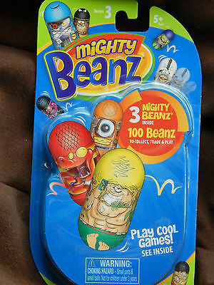 20 sets Mighty Beanz! Jumping beans! Brand New! Party bag! Collect! Series 3!