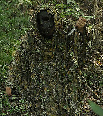 Camouflage Jungle Maple poncho Camouflage Ghillie Suit Sniper Hunting /One Size