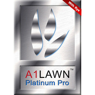 A1LAWN Platinum Pro Lawn Grass Seed Germination Booster with Rye