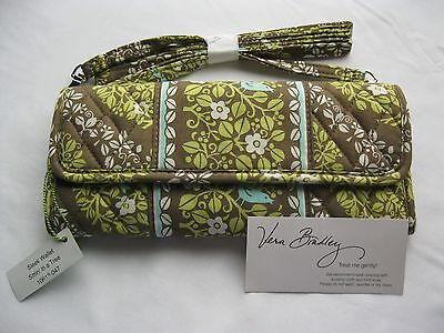 Vera Bradley SITTIN IN A TREE Sleek WALLET Crossbody CLUTCH Purse CHECKBOOK  NWT