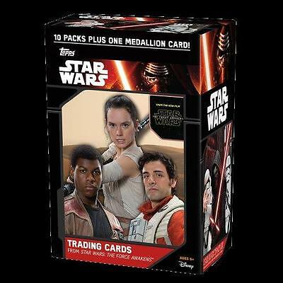 2015 Topps Star Wars The Force Awakens Series 1 Blaster 2 Box Lot (2 BOXES)