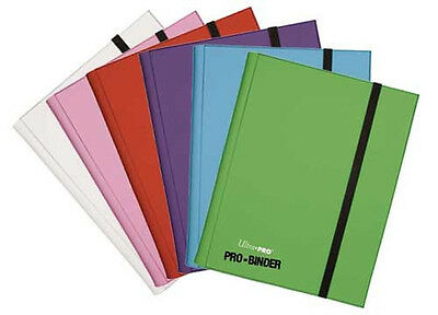 PICK A COLOR - Ultra Pro 360 Card  9 Pocket Pro-Binder Book Sideloading NINE 9