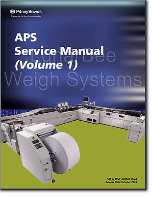 Pitney Bowes APS Advanced Productivity System Service Manuals