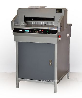 """PROMOTION,New 19"""" Programmable Paper Guillotine Cutter Cutting Trimmer,480mm"""