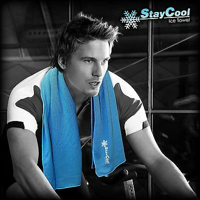 Stay Cool Ice Towel Lightweight Sports Outdoor Cooling Heat Relief