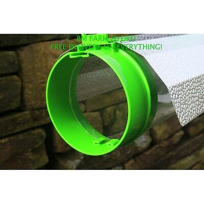"""Powerplant 5"""" Aerotube Air Cooled Reflector With Ic Cord Grow Light Hydroponics"""